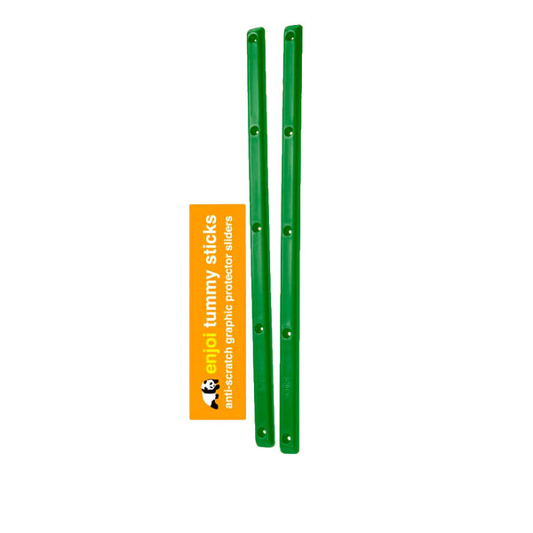 Enjoi Spectrum Tummy Sticks Rails Green