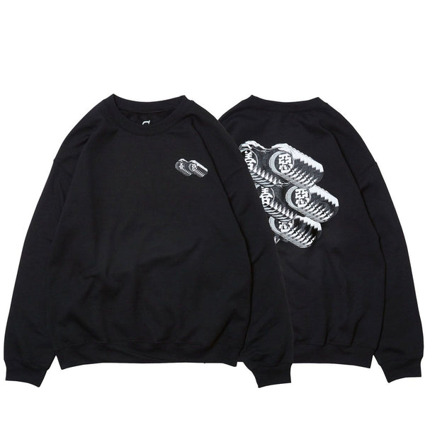 Evisen They Live Crew Sweat Black Q.