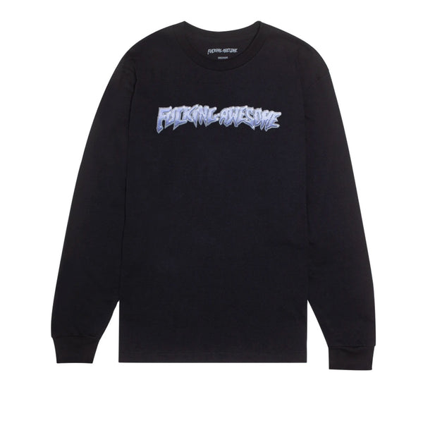 Fucking Awesome Chrome LS Tee Black