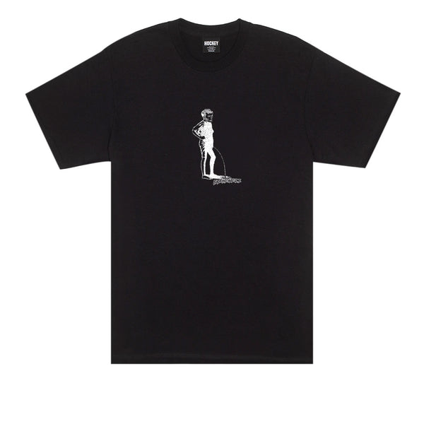 Hockey Piss Black Tee