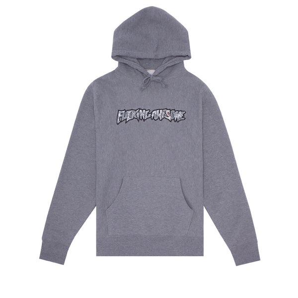 Fucking Awesome Actual Visual Guidance Hoodie Grey