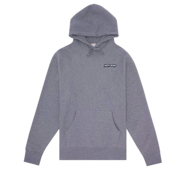 Fucking Awesome Little Stamp Hoodie Gunmetal Heather