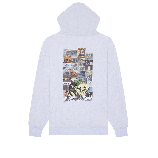 Fucking Awesome Frogman 2 Hoodie Heather Grey