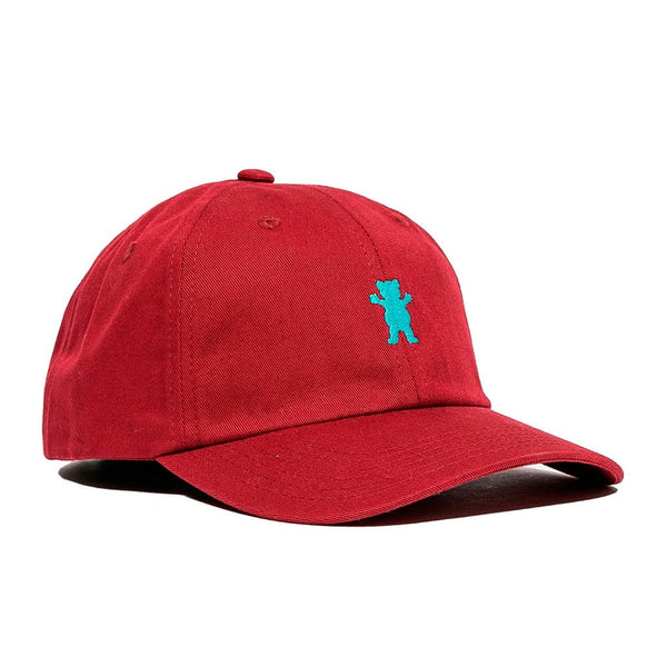Grizzly Grizzly Og Dad Bear Logo Hat Burgundy / Blue
