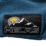 Helas Panda Quarter Zip Blue