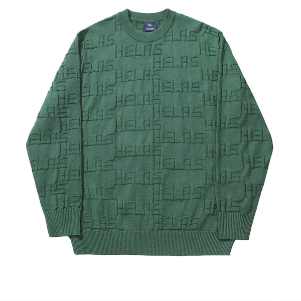 Helas On Repeat Knit Green