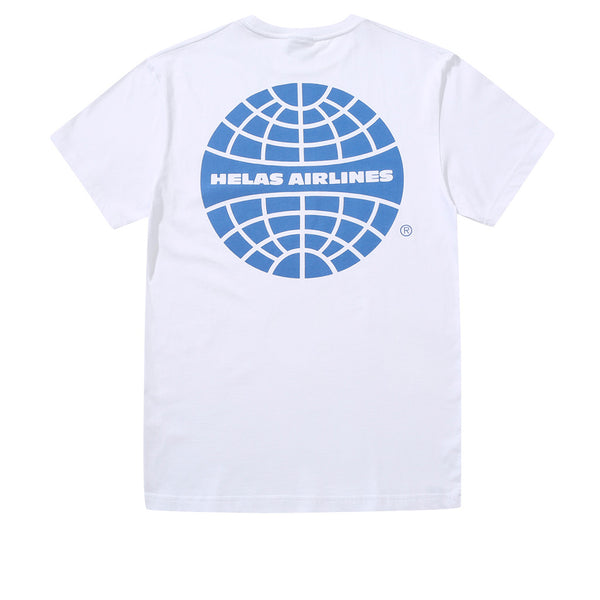 Helas Airlines Tee White