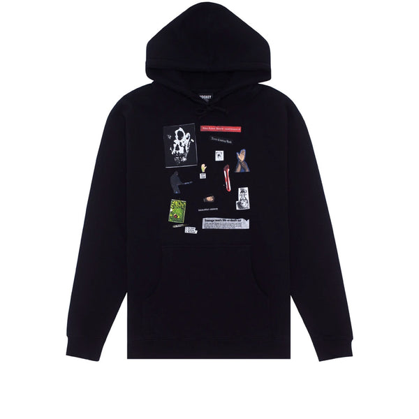 Hockey Summoned Hoodie Black
