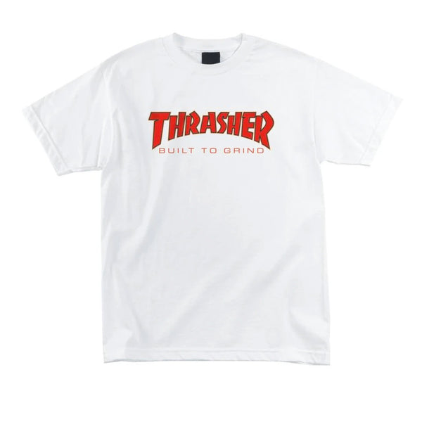 Independent X Thrasher BTG T-shirt White