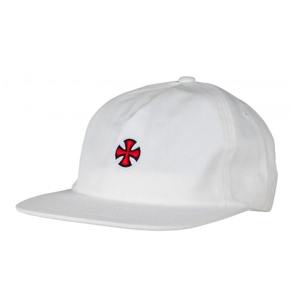 Independent Truck Co Fort Cap White