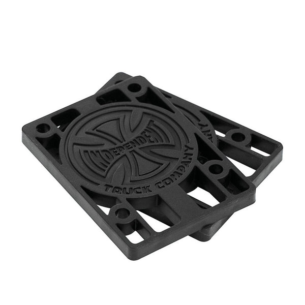 Independent Riser Pads 1/4 x2 (Black)