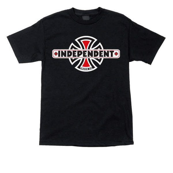 Independent Tee Vintage Cross Black