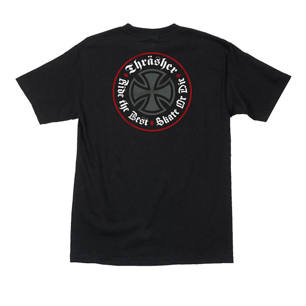 Independent X Thrasher Oath S/S Regular Black