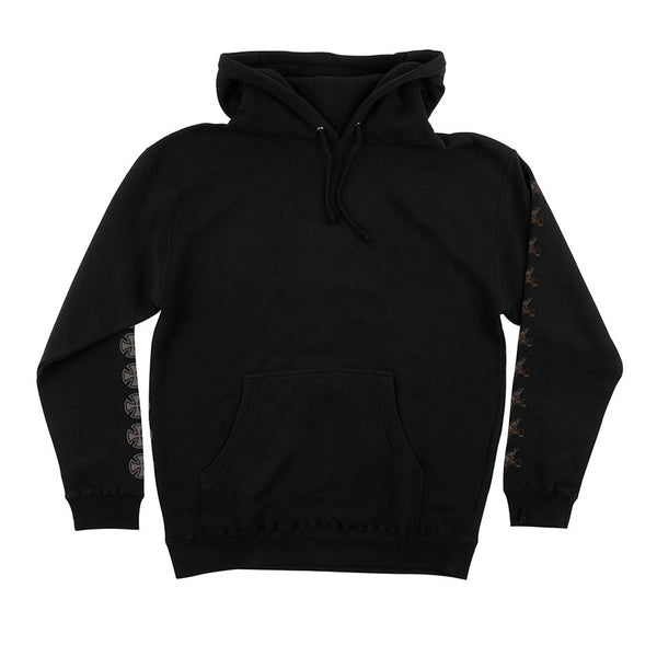 Independent X Thrasher Pentagram Cross P/O Hooded Black