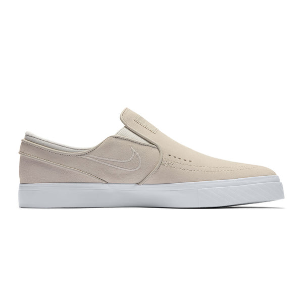 Nike Sb Zoom Stefan Janoski Slip White / Light Bone White Q.