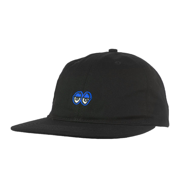 Krooked KR Eyes Black / Royal Strapback
