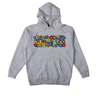 Krooked Sweatpants Pullover Hoodie Grey Heather (Multi)