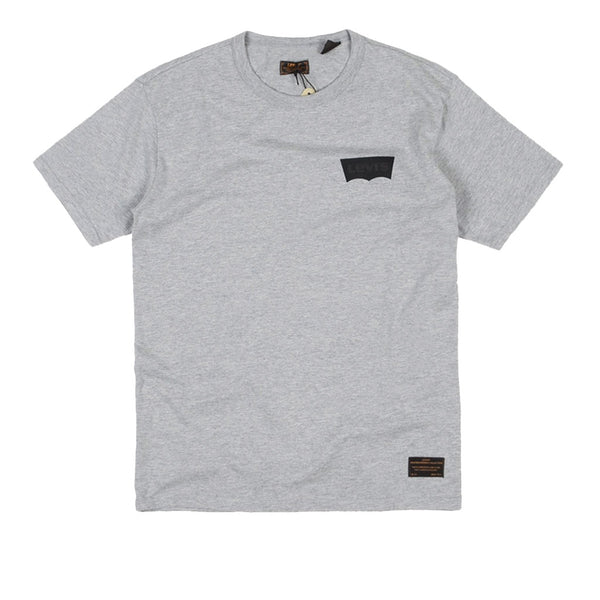 Levi's Skate Graphic T-Shirt - LSC Heather Grey Core / Batwing Black