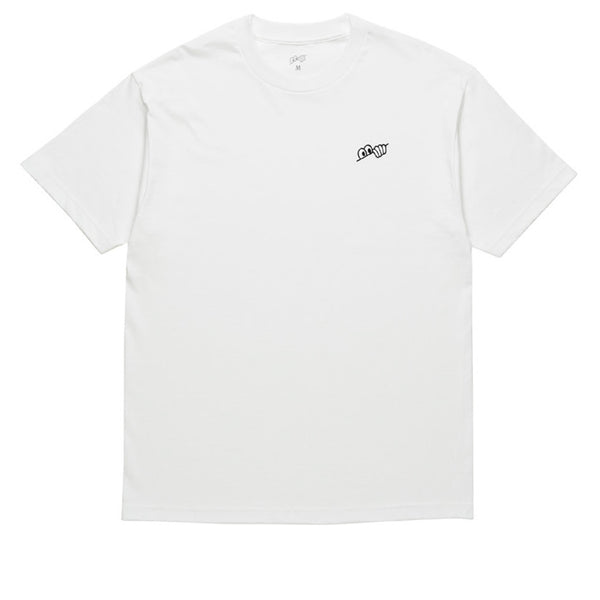 Last Resort Eyes Tee White