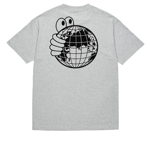 Last Resort World Tee Heather Grey