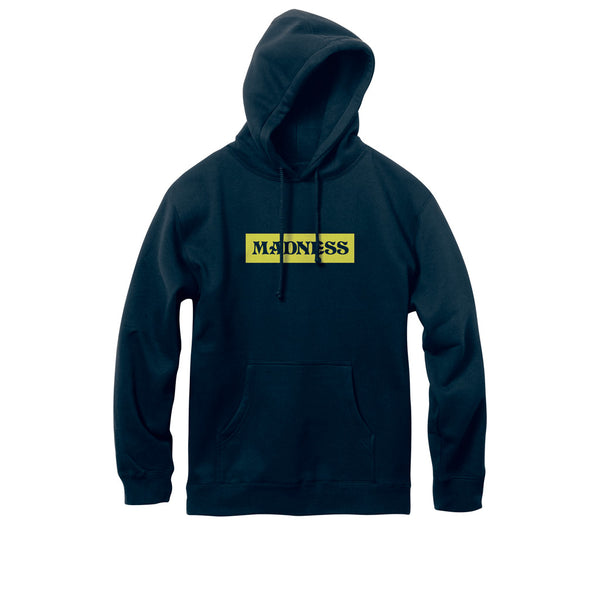 Madness Pullover Hoodie Bar Navy Q.