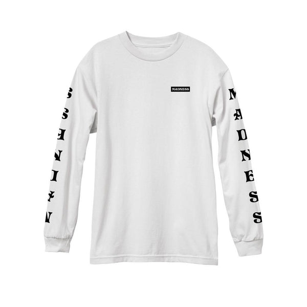Madness Expanded White Long Sleeve
