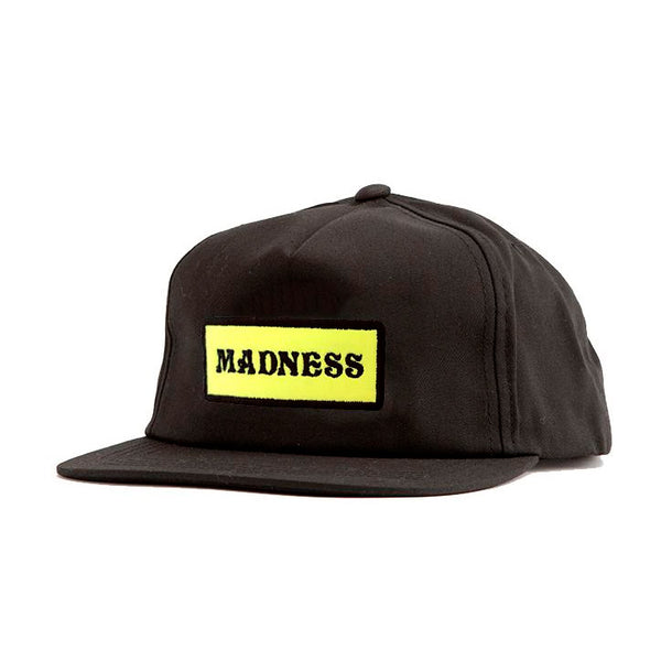 Madness Mad Bar Black Cap