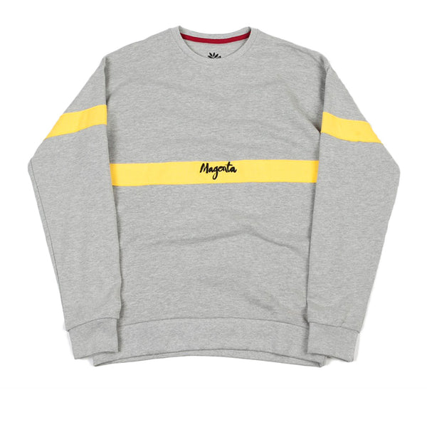 Magenta Crew Light Grey Q.