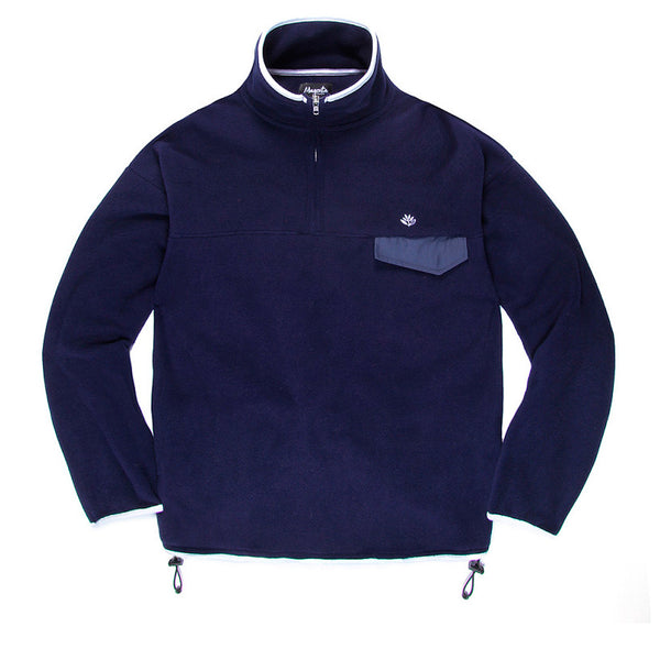 Magenta Polar Fleece Navy Q.