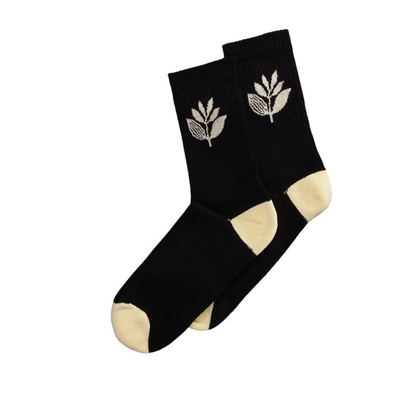 Magenta Socks Plant Black/ Cream
