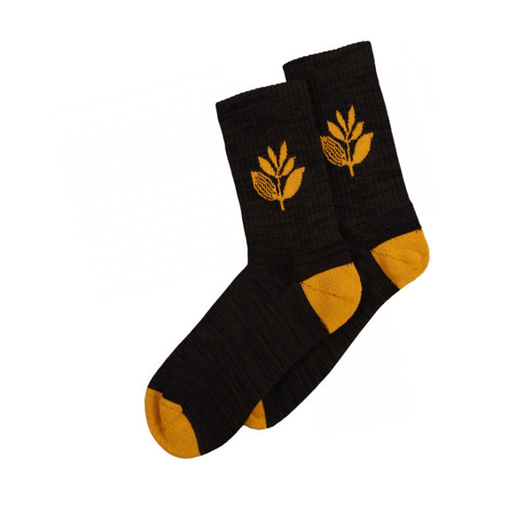 Magenta Socks Plant Black/ Orange