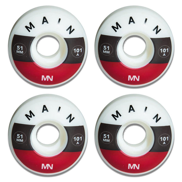 Main Wheels 51mm 101A