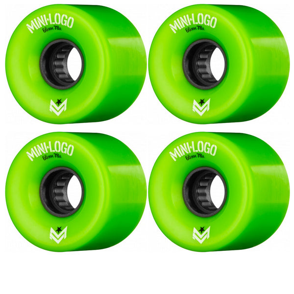 Mini Logo A.W.O.L. A-Cut Green 66MM 78A