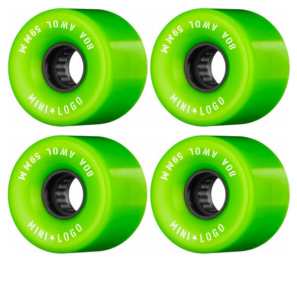 Mini Logo A.W.O.L. A-Cut Green 59MM 80A