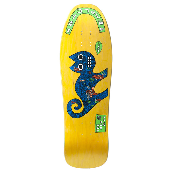 New Deal Templeton Cat Yellow 9.75