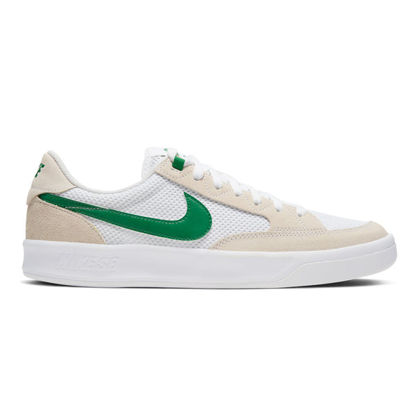 Nike Sb Adversary White / Pine Green