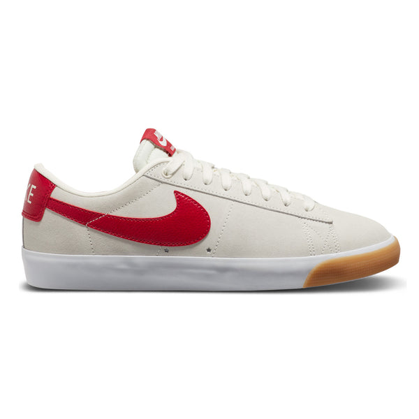 Nike Sb Blazer Low GT Sail /Cardinal Red / White / Gum Light Brown