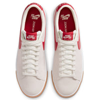 Nike Sb Blazer Low GT Sail / Cardinal Red