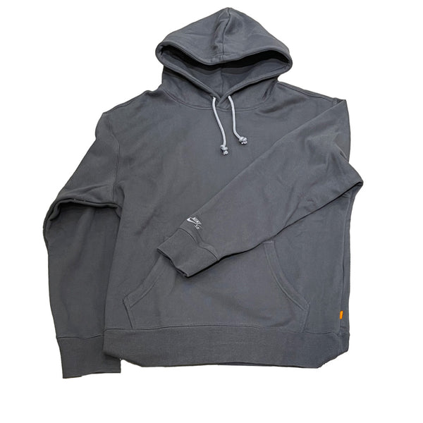 Nike SB Orange Label Classic Fleece Hoodie Dark Smoke Grey Q.