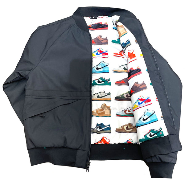 Nike SB Jacket ISO Orange Label Dark Smoke Grey Q.