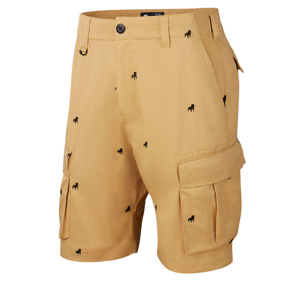 Nike Sb Kevin Bradley Skate Shorts Club Gold / Black