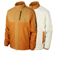 Nike Sb Skate Jacket (Oski) Muted Bronze / Burnt Sienna / Black *Reversible*
