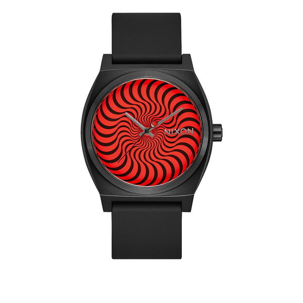 Nixon Time Teller Black / Swirl X Spitfire Collection