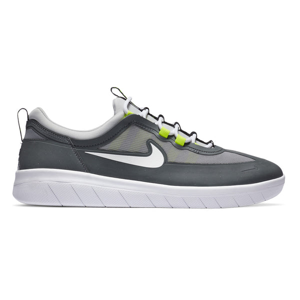 Nike SB Nyjah Free 2.0 Smoke Grey / White / LT Smoke Grey