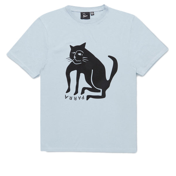 Parra Cat Dusty Blue Tee