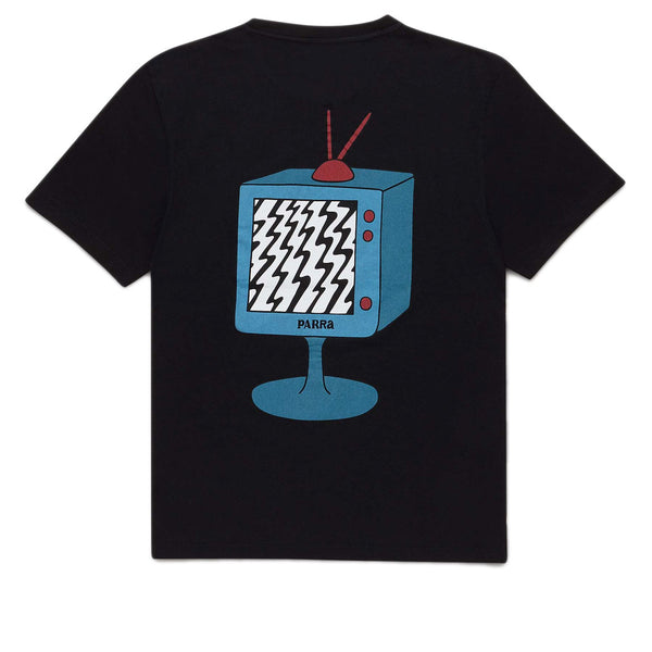 Parra Channel Zero Black Tee