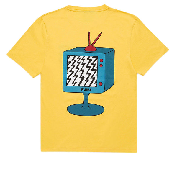 Parra Channel Zero Yellow Tee