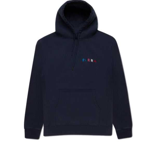 Parra Fonts Are Us Hooded Navy