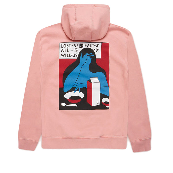 Parra Lost All Will Fast Hooded Sweatshirt Pink