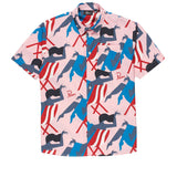 Parra Madame Beach Shirt Pink